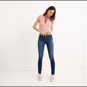"Madewell 10"" high-rise jeans in Danny wash"